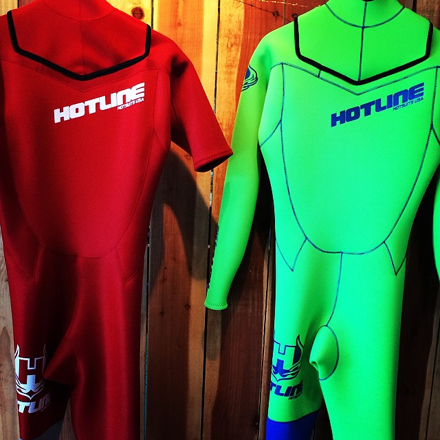 ~Need some color in your life? We'll make any suit you can dream up #Hotline ~ #Custom #Local #HandMade #California #SantaCruz