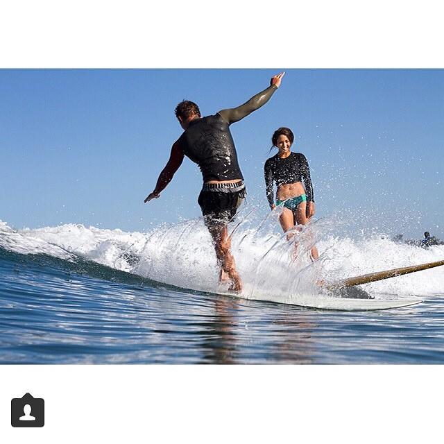 @melesaili @mrrodgers_neighborhood sharing @bingsurfboards and waves ❤️