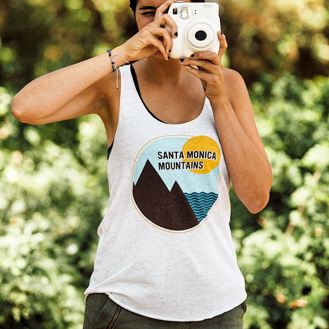 Your trustee companion on a hot day: the racerback tank. #heatwave #radparks #parksproject