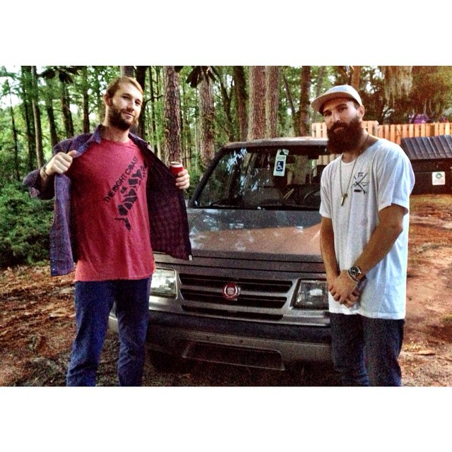 Regram from the homie @therawse and @hugh_mclaurin // reppin hard in Wilmington // thought I bout a Cadillac turned out to be a sidekick // #tooturnt #therightcoast #stzlife #wilmington #stzcrew