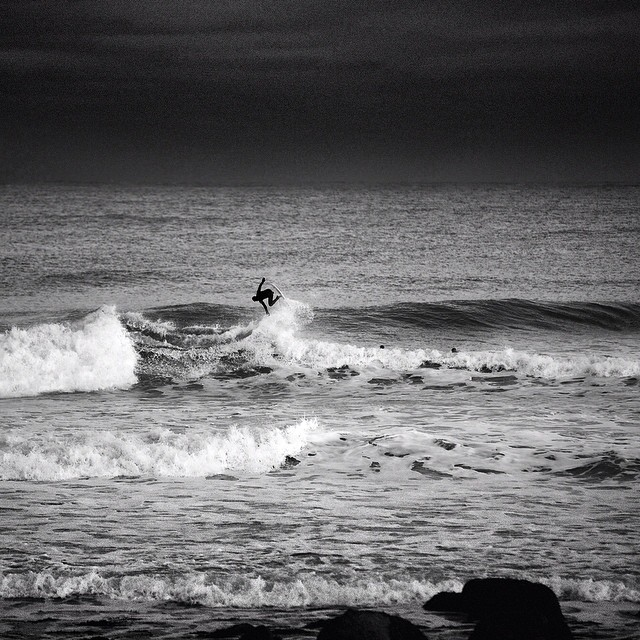 Winter Games. #coldwatersurf #airtime #blackandwhite #bw #canon