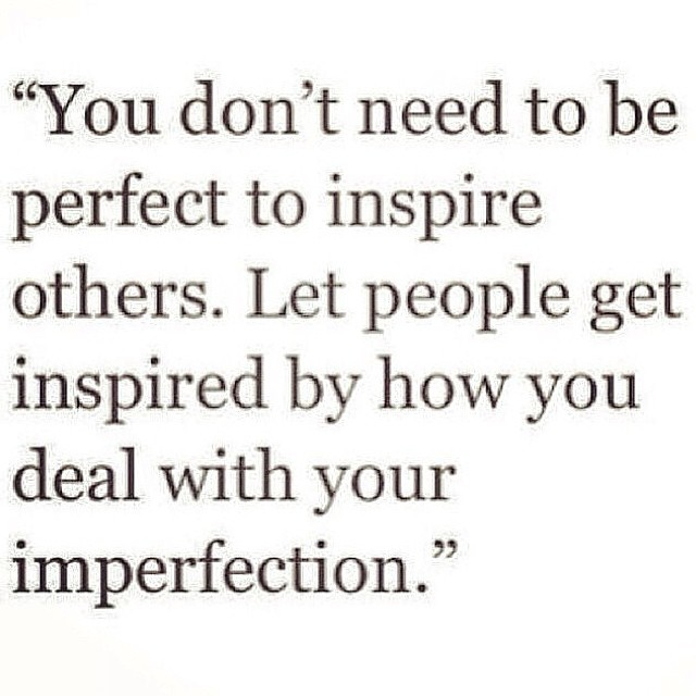 Be perfect in your imperfection. Nugget from our friends @stylelikeu, who never cease to inspire #allswell