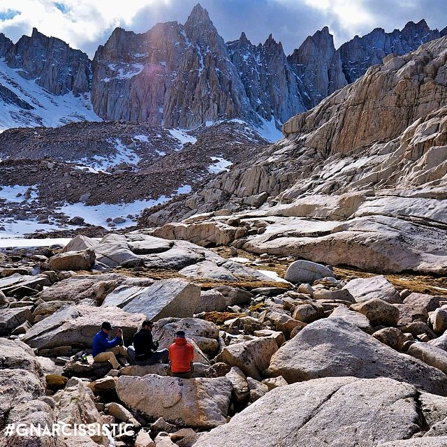 Trail Camp at Mt. Whitney with @adventure_addicts  Explore More.  #GNARCISSISTIC  PC: @adventure_addicts