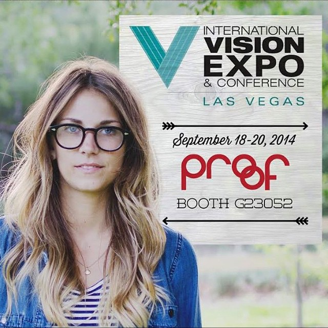 Coming to #VisionExpo in Las Vegas this week? Stop by our booth! @intlvisionexpo