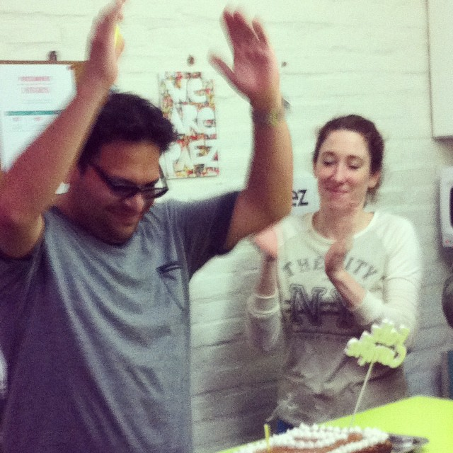 Happy BDay Dani! Our Happiness&Culture Manager! #paezteam