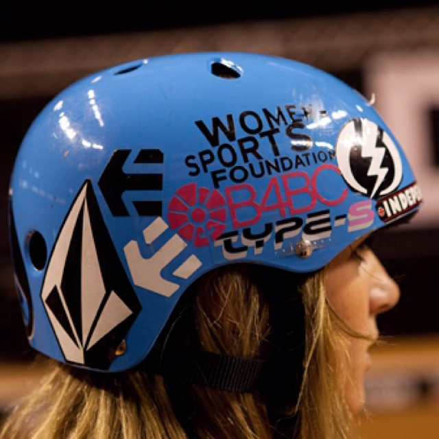 #TBT Throwing it back to 2010 at the @dewtour with @lynzskate rocking a #B4BC die-cut on her helmet!  Check out our sticker packs and the rest of our cobranded goods in our @spydersurf shop at www.b4bc.org/shop