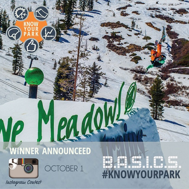 Post a picture w/ #knowyourpark and win big!