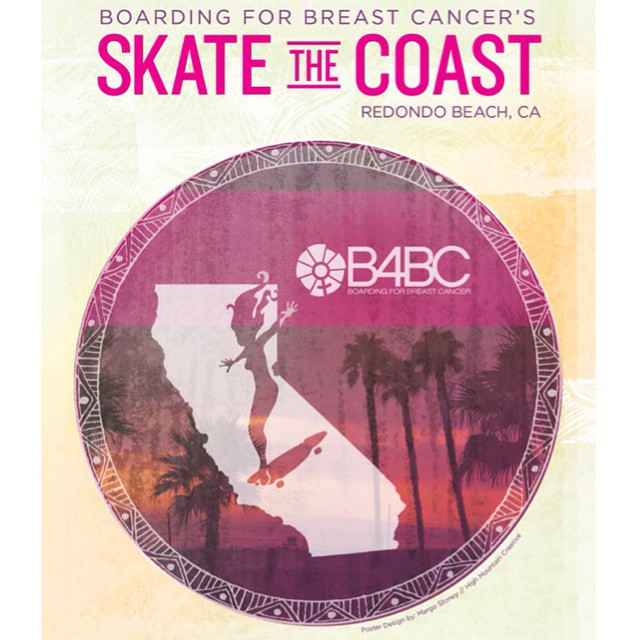 Who's ready for #SkateTheCoast next weekend?! Skate 18 miles with us from Santa Monica to Redondo Beach, and help raise funds for Boarding for Breast Cancer's education and prevention programs and win sweet prizes from our partners along the way!! Sign...