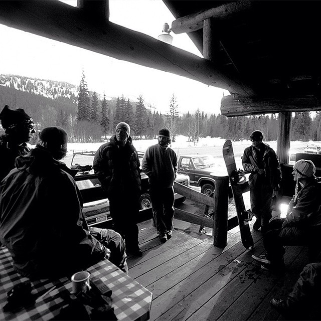#DPSRoots Thursdays: 33 mile pow-wow with Sean Dog. Haines, #AK. Spring, 2006. #tbt #dpsskis