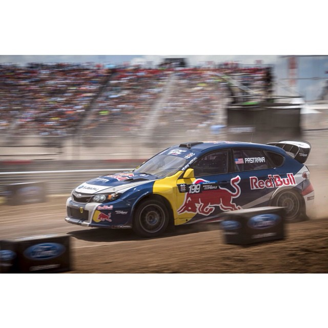 Guess who's baaaack! Gear up for @TravisPastrana's next stop: @RedBullGRC Los Angeles.