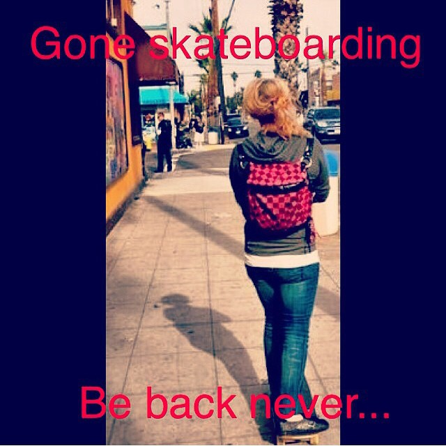 Thanks to @yeahailey for this gem. #skateboarding #skateboard #skate #skatelife #sk8 #eternalroadtrip #freedom #thankyouskateboarding