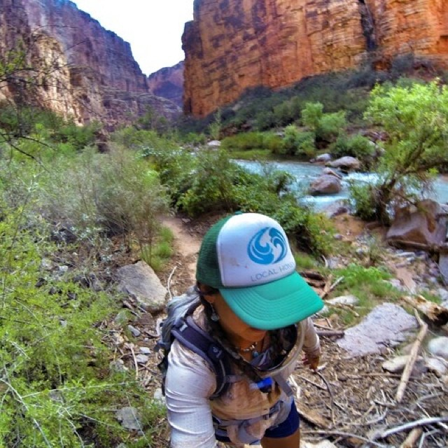 We would like to welcome our awesome Team Rider @nautilussup back from a successful 3 week tour on the Colorado River! You are one #badass #riverfox!  Glad you made it out of the canyon safe and sound! #localhoneydesigns  #natalizollinger #supyoga...