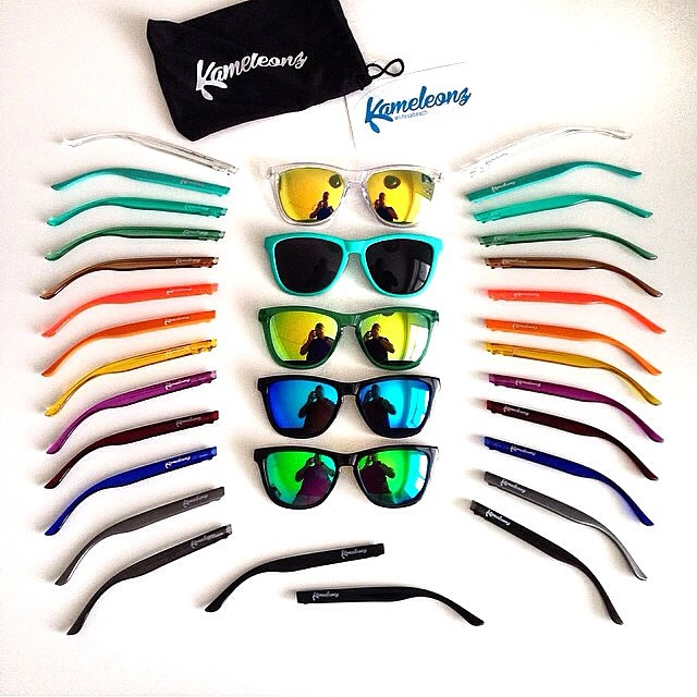 It's like a colorful Swiss Army Knife for your face | #Kameleonz #LifesABeach #WheresYourBeach #Sunglasses #Colorful #Travel #iPhone #iPhoneOnly #Denmark Get fast & free shipping to anywhere in the world with coupon: FAST&FREE #freeshippingfriday pic...