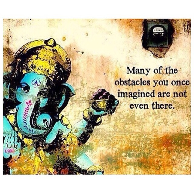 Wise words from Ganesha