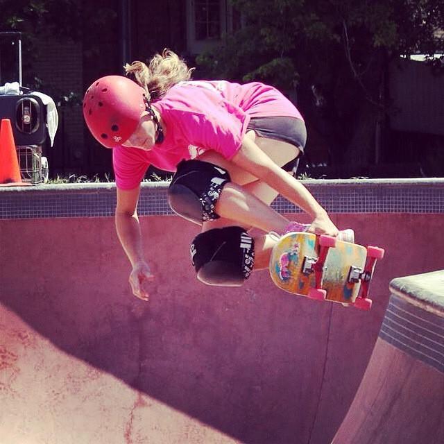 @nicolenoller, colorful over the hip. #skateboarding #skating #skate #skatelife #sk8 #skater