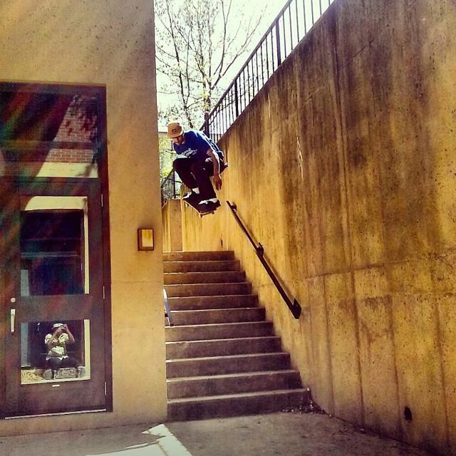 Team rider from #Delaware @quillmatik❄️#frostyheadwear #skateboarding #metrogrammed