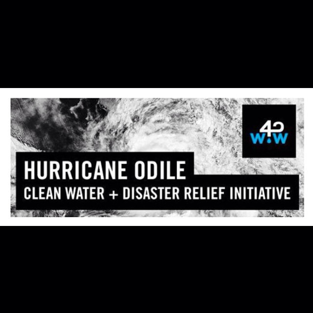 In support of @wavesforwater's current disaster relief initiative in hurricane-hit #baja #mexico we are donating 20% of sales on @goodpeoplelife for the rest of the month. The kind folks at @goodpeoplelife are matching our donation so 40% goes directly...