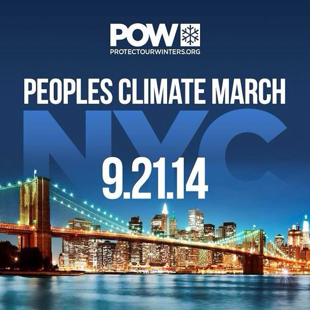 Join @protectourwinters for the NYC #PeoplesClimateMarch!  Meet at @patagoniaNYC | 426 Columbus Ave between 9:00-11:00 AM // #plantyoursoul