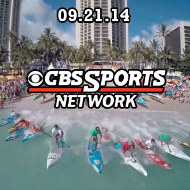TODAY IS THE DAY! Tune into CBSsports Network to watch the SUP showdown. 12 pm pacific time #historyinthemaking @ultimatesupshowdown  ITS UP NEXT. 45 minute countdown