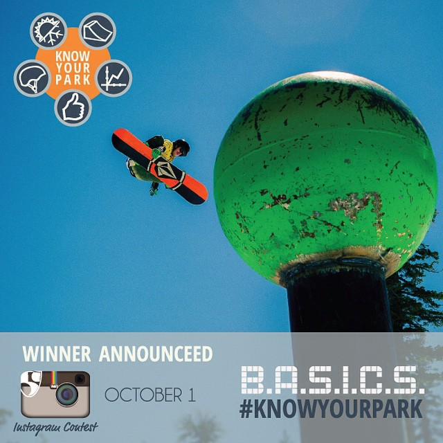 Enjoy the final hours of the weekend by posting a photo of you in the terrain park with #knowyourpark and WIN @pocsports & @volklskis gear!