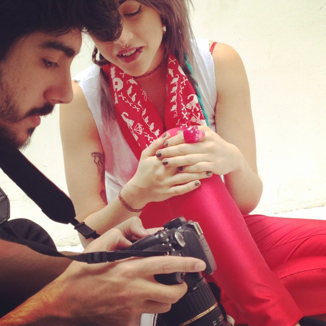 Hay equipo @dorisphanic @sawrina  #backstage #fashion #cool #photography #photo #canon #style #moda #urbanlife