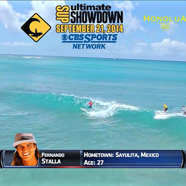 #repost @ultimatesupshowdown @fernandostalla making his television debut. Stoked to see all our ROGUE RIDERS on the tube in this historic event. @joshriccio @bichosup  @karencjacobson. BIG THANKS to everyone at @ultimatesupshowdown . Can't wait for...