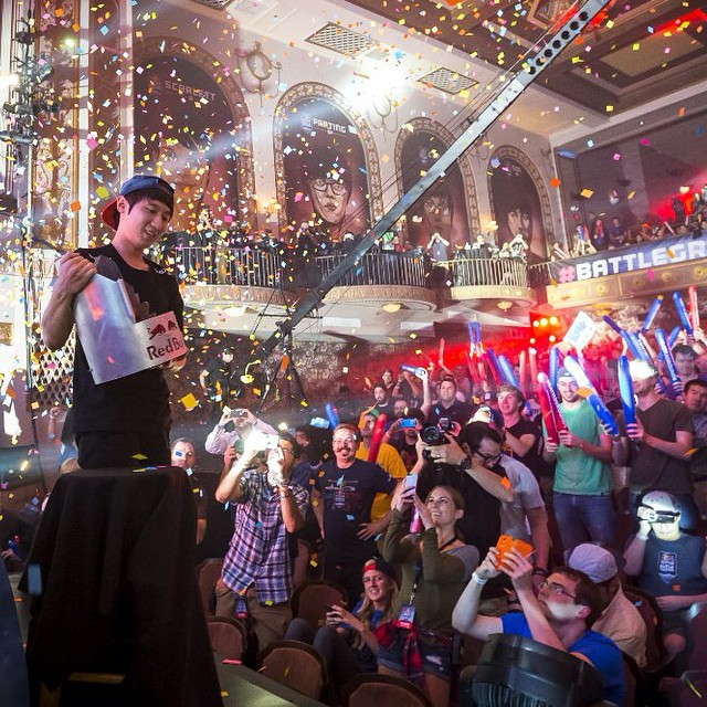 Congrats to Bomber, the 2014 Red Bull #BattleGrounds champion! GG WP!