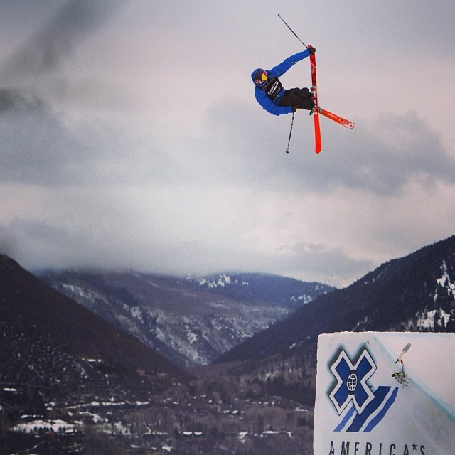 Go big or go home? #xgames (Photo @espn_images )