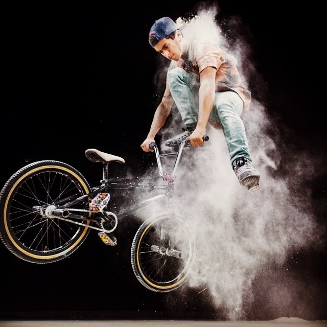 BMX powder dust. #bmx #lumia #varohernandez