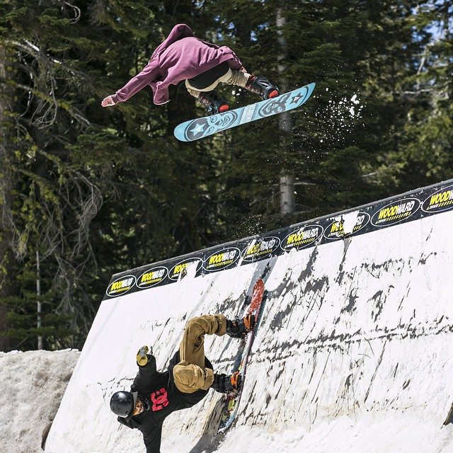 Can't wait for days like this!  Coming soon!! Our good homie @tuckernorred getting air on the #teamseries!  Get into your local shop and grab your new Academy Stick!! @borealmtn @woodwardtahoe #academykidsrule #goodpeople #greatsnowboards...