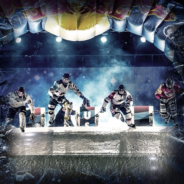 Sharpen your skates. #CrashedIce