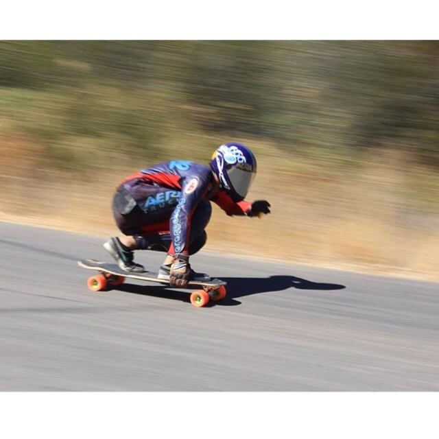 Happy Monday everyone! Check out @CamiloCespedes railing on his #Cantellated #Tesseract through a quick lefty at this weekends #SantaGnarbara Race! | Photo Cred: @riptidesports | #LoadedBoards #Orangatang #Orange #Kegels