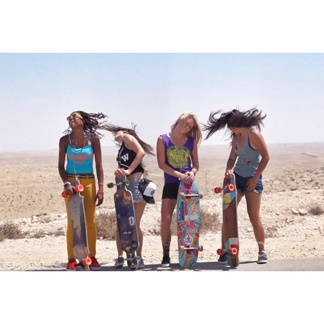 TOMORROW: new trailer + worldwide premiere date  MAÑANA: nuevo trailer + fecha de estreno  #LGCOpen #itshappening #dancelikeyoumeanit #fuckyes #longboardgirlscrew #girlswhoshred  @danieletura photo