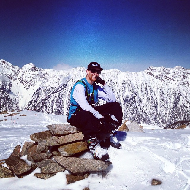 Man Crush Monday goes out to the super fine red headed stunner @killa_kevin, crushin his senior picture photoshoot at lake peak! #kittenfactory #lakepeak #utah #skiing #mcm #gingerlove