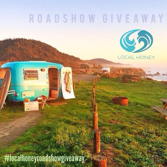 Local Honey Roadshow Bikini Giveaway! 9/29-10/12  We are looking forward to our roadshow down south! First stop in Carmel for the @waveofwellness Body Dialog workshop. We will be heading all the way through Big Sur and on to San Diego. The first 3...