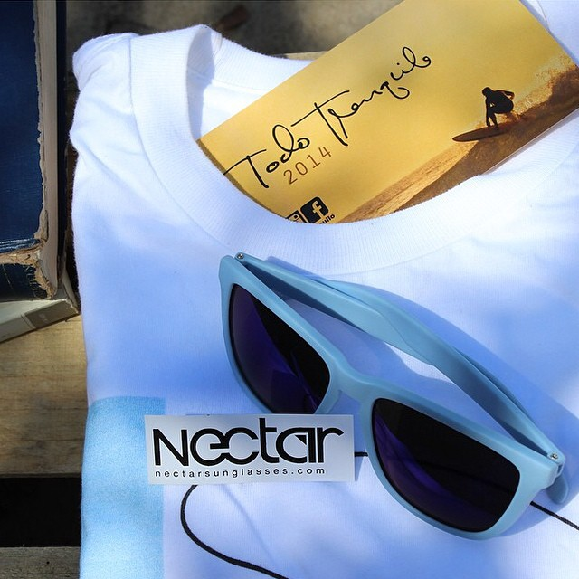 Here is your chance to win a pair of @nectar sunglasses of your liking, along with your choice of one @todotranquilo tee. To enter the giveaway: 1)Repost this image. 2)Follow @nectar @todotranquilo 3)Hashtag: #nectarshades #livethesweetlife...