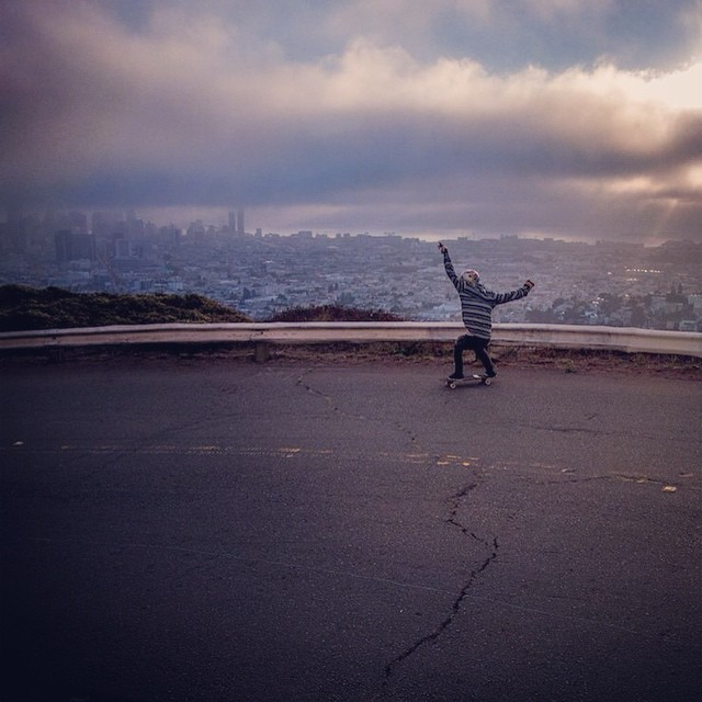 Good morning!  Chad Lybrand. San Francisco. Bonzing.