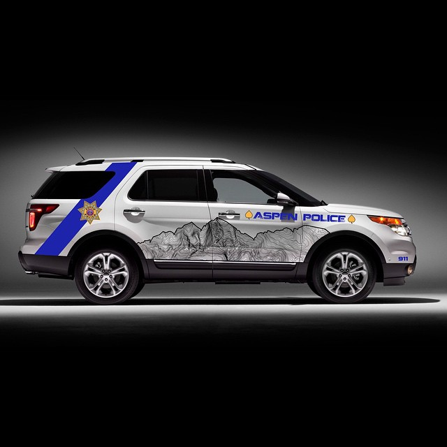 Working on a new vehicle design for Aspen Police... thoughts? #kinddesign #vehiclewrap #graphicdesign #design #art #aspen #colorado #liveyourdream