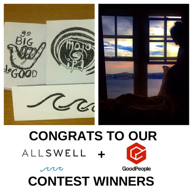 Sending out a big congrats to our #AllSwell + #GoodPeople #Instagram Contest Winners @duffyrebecca and @g_i_jordan! We were all stoked on your #MyInspiration posts - please shoot Monica from @allswellcreative an email at monica@llrconsulting.com so you...