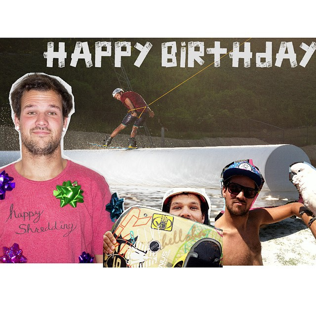 Happy birthday to team rider @jefferson_mathis // always keeping it fun and having a blast! #happyshredding #professionaloutsider #stzcrew #waterdancer #oldman #stzlife @terminuswakeatl