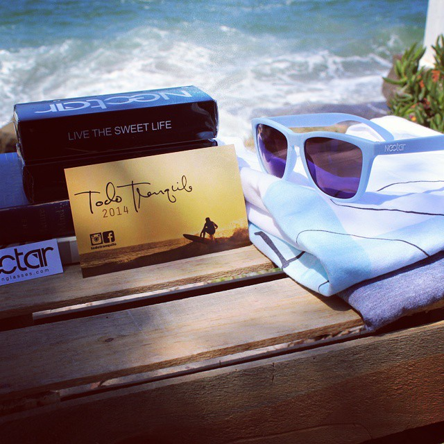 Want to win a swag pack with sunnies and @todotranquilo shirts?  Of course you do. Tag a buddy who's awesome and follow @todotranquilo. Winner chosen Wednesday at 3 PM