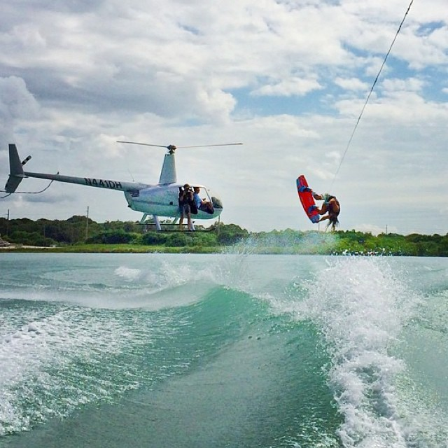 #TeamB4BC rider @tarahmik is tearin' up the wake in the last days of summer, making us want to get outside and #behealthygetactive today!!