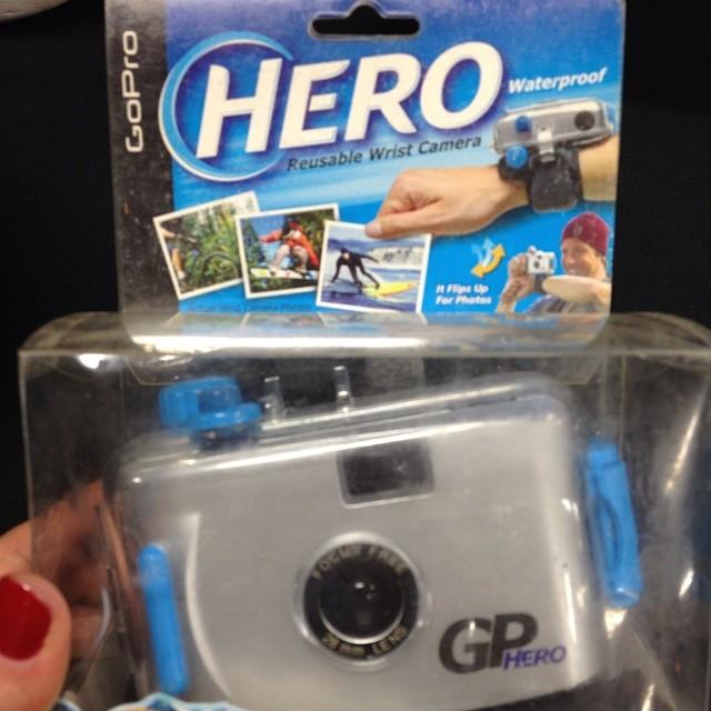 Innovation needs to start somewhere - the first @GoPro #beahero #gobigdogood