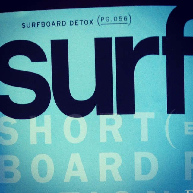 The ECOBOARD Project strikes again! Pick up the current issue of SURFER Mag yall, and check out page 56 (surfboard detox) for a feature called The Green Wave. So stoked about all the coverage our ECOBOARD Project partners got, as the pioneers who are...