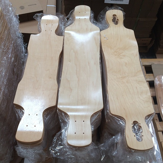 The @churchillmfg LTD with her sisters the #crystal and #raven too mount versions of the #longtrekdeck and the #Kray due to be released soon on #funboxskateboards  website #longboarding #longboard #downhill #freeride #thanelines #skateboard #skatelife...