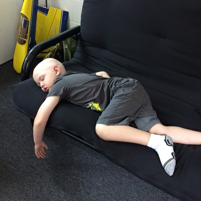 Caught the #boss sleeping on the job @churchillmfg @lovehealsgage  #friday #hotashell #working #skatelife #warehouselife #longboarding #summer #cali #fuckcancer #nap #sleep #naptime #hardwork