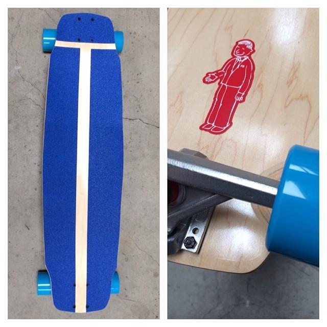 Custom Brick Complete #longboard #landyachtz #longboarding #longboards #brick #downhill #thanelines #cali #usa #skateboard #skatelife #rayne #dblongboards #summer #freeride #slide #bacon #concave