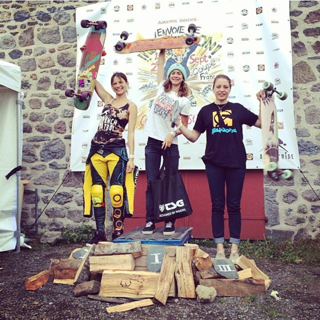 Congrats to Lyde on the win last weekend in France on the #restlessNKD !! #restlessboards
