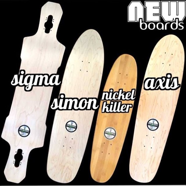 New #longboards just released online. Grab em while you can! #skateboard #skateshops #skatelife #longboard #longboarding #concretewave #churchillmfg #thanelines #freeride #downhill #longboards #skateboards