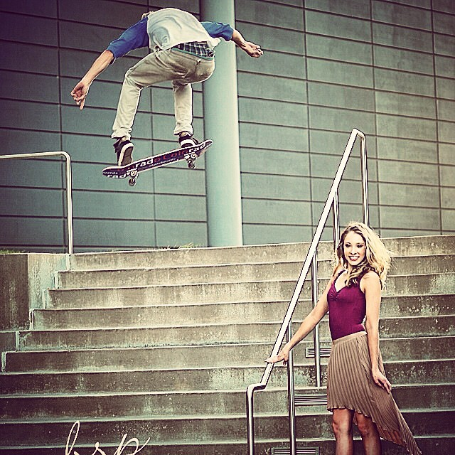 Every once in a while Colorado Skateboards shred, Adam Pond, comes across a model on a photo shoot. Nice back 1 photo bomb by our boy! #1sttry#stomped video on Colorado Skateboards FB page (Colorado Skateboards latest)